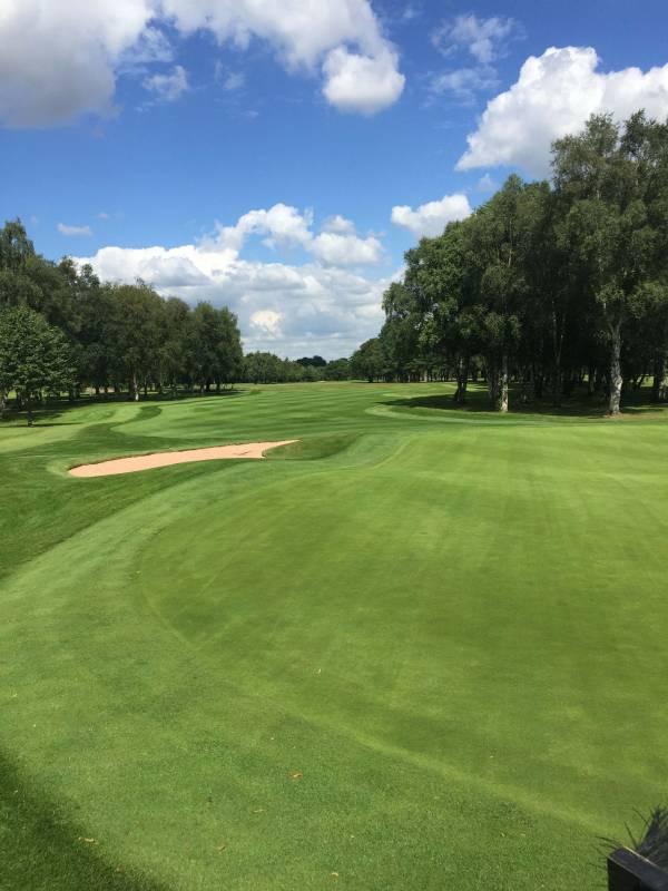 Hole 3 Leigh Golf Club